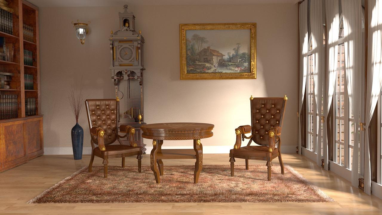 Zabytkowe meble jako stylowe dopełnienie eleganckich wnętrz
