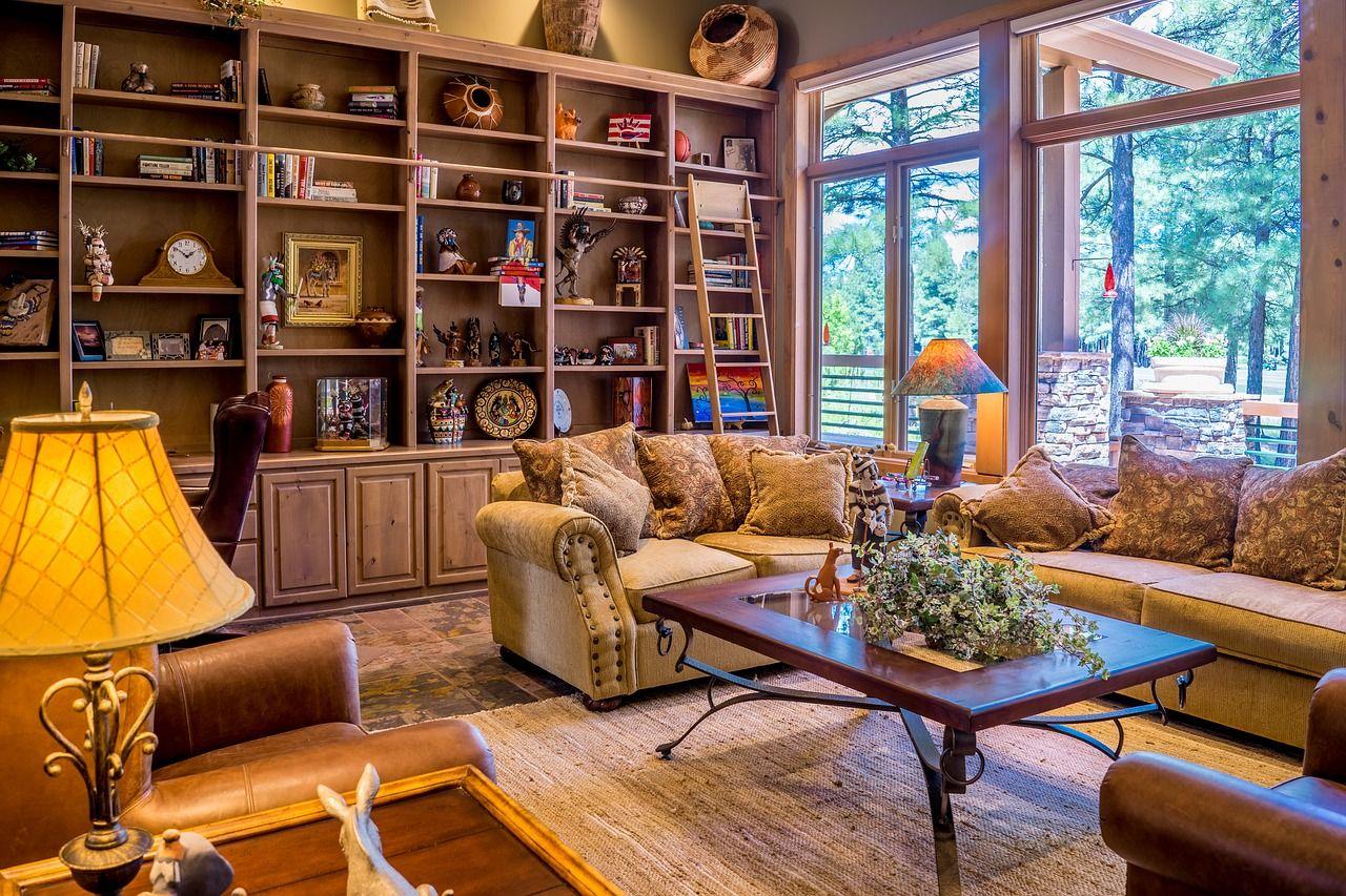 Jakie meble będa idealne do salonu w starym stylu?